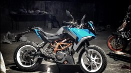 Check out first images of Autologue Design Xplorer kit on a KTM 390 Duke