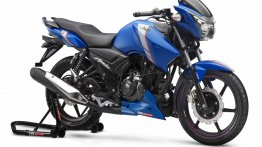 Complete TVS Apache RTR series updated with ABS