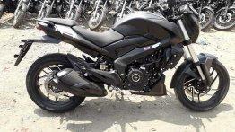 Matte black Bajaj Dominar 400 spotted for the first time