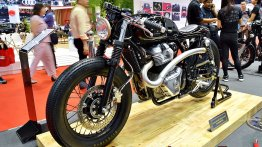 Custom Royal Enfield Interceptor INT 650 - BIMS 2019 Live