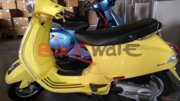 New Vespa ZX 125 with Combi Braking System spotted at dealership - Report