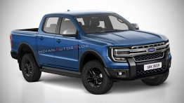 Next-gen 2022 Ford Ranger imagined - IAB Rendering