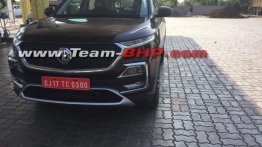 MG Hector spotted sans camouflage in the daylight, goes on sale in June