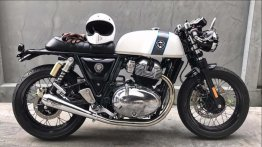 Modified Royal Enfield Continental GT 650 looks subtle, yet appealing [Video]