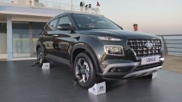 Hyundai Venue Unveiled in India midst Arabian Sea, Launch on 21 May [Update]