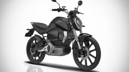 Production-spec Revolt electric motorcycle imagined - IAB Rendering