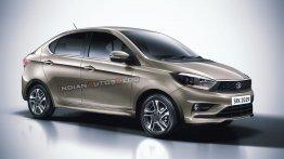 2020 Tata Tigor (facelift) - IAB Rendering