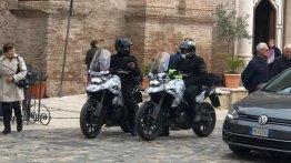 Mysterious Suzuki adventure tourer spied in Europe