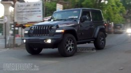 Jeep Wrangler (JL) Sahara spied testing in India