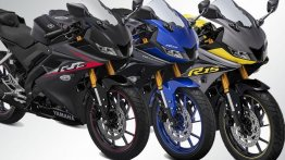 2019 Yamaha YZF-R15 V3.0 with new colours and graphics launched in Indonesia