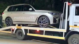 BMW X7 xDrive40i spied in India, to be launched in September