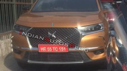 DS 7 Crossback spied on test in India yet again