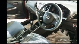 2019 Toyota Glanza interior leaked ahead of 6 June launch