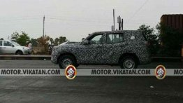 Next-gen 2020 Mahindra Scorpio spied for the first time