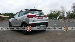 BS-VI Mahindra XUV300 spied for the first time