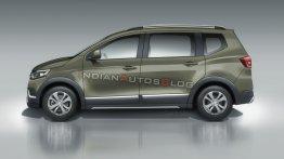 Renault Triber (Renault RBC) profile - IAB Rendering