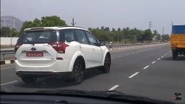 BS-VI Mahindra XUV500 spied on test