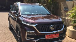 MG Hector spied one last time ahead of official unveiling tomorrow