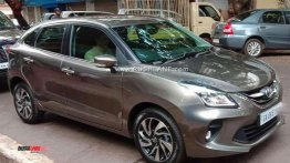 Toyota Glanza spied during TVC shoot in Goa [Video]