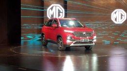 MG Hector के लिए कंपनी ने सेट किया टारगेट, सालाना 18,000 यूनिट बेचेगी