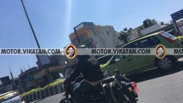 Next-generation Royal Enfield Classic with optional accessories spied again