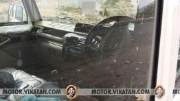 Mahindra Bolero spied with airbag and reverse parking sensors