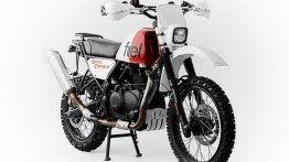 Modified Royal Enfield Himalayan is set to ride at the 2019 Scram Africa