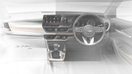 Kia SP2i interior teased, key features revealed