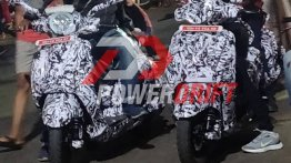 Bajaj Urbanite scooters show their front-end for the first time