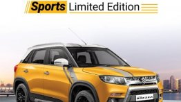 Maruti Vitara Brezza Sports Limited Edition launched