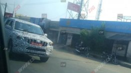 2020 Mahindra Scorpio front-end captured in clearer spy shots