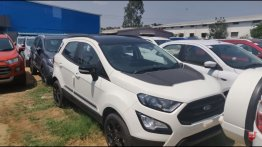 Ford EcoSport Thunder Edition detailed in a walkaround video