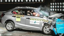 मेड-इन-इंडिया Honda Amaze को ग्लोबल NCAP क्रैश टेस्ट में मिले 4 स्टार