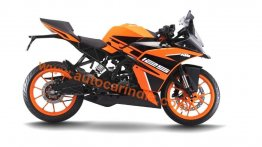 New paint scheme for India-bound KTM RC125 leaked