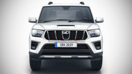 Next-gen 2020 Mahindra Scorpio front-end - IAB Rendering