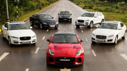 Jaguar sets Delhi roads on fire with the 'Art of Performance' event