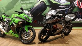 2019 Kawasaki Ninja 300 starts arriving at dealerships – 7 Live images