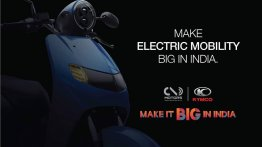22Motors Flow electric scooter teased ahead of India launch