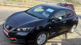 Nissan Leaf spied on test yet again