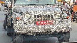 2020 Mahindra Thar के इंटीरियर का खुलासा, तस्वीरें लीक