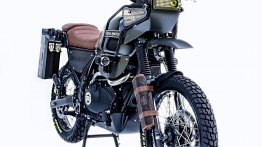 Modified Royal Enfield Himalayan looks Dakar Rally ready