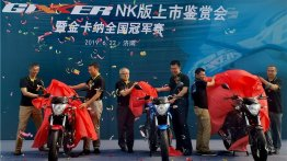 Suzuki Gixxer 155 launched in China as Gixxer NK