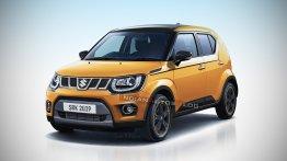 2019 Maruti Ignis (facelift) - IAB Rendering