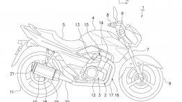Is this the next-gen Suzuki GSR-250 (Inazuma)?
