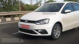 New VW Polo (facelift) spotted sans camouflage in Pune