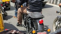 2020 Royal Enfield Thunderbird X test mule reveals revised tail section