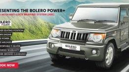 Mahindra Bolero Power+ का एबीएस वर्जन लॉन्च, कीमत 7.31 लाख रुपये