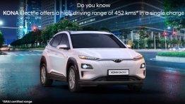 ARAI confirms Hyundai Kona Electric to offer a range of 452 km