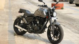 Modified Royal Enfield Thunderbird 350X gets naked roadster styling