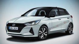 2020 Hyundai i20 कुछ ऐसी नज़र आएगी - IAB ने तैयार की कार की रेंडर इमेज